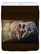 Peace And Comfort Duvet Cover