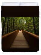 Peace Bridge Duvet Cover