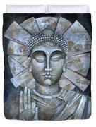 Peace Buddha Duvet Cover