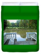 Peace By The Lake Duvet Cover
