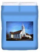 Peace Church Duvet Cover
