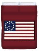 Peace Flag Duvet Cover