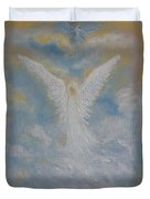 Peace From An Angel  Duvet Cover