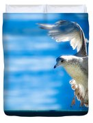 Peace Gull Duvet Cover