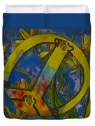Peace In The Nature Duvet Cover