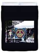 Peace In The Streets Duvet Cover