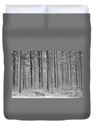Peace In The Woods Duvet Cover by Catherine Reusch  Daley