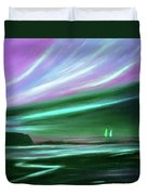 Peace Is Colorful 2 Duvet Cover