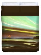 Peace Is Colorful Duvet Cover