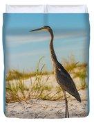 Peace On The Beach Duvet Cover