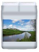 Peace River Duvet Cover