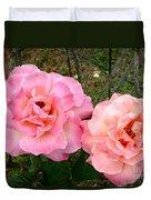 Peace Roses Duvet Cover