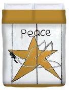 Peace Star Duvet Cover