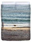 Peaceful Beaches Duvet Cover