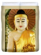 Peaceful Buddha Duvet Cover