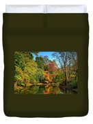 Peaceful Calm - Allaire State Park Duvet Cover
