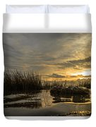 Peaceful Clouds Duvet Cover