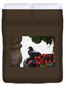 Peaceful Garden Duvet Cover