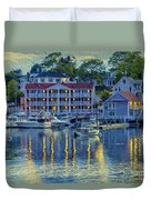 Peaceful Harbor Duvet Cover