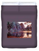 Peaceful In Infrared No2 Duvet Cover