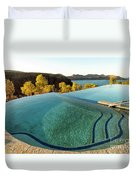 Peaceful Infinity Duvet Cover
