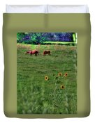 Peaceful Meadow Duvet Cover