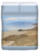 Peaceful Moments By The Salt Lake 4 Duvet Cover