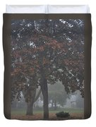 Peaceful Morning Mist Duvet Cover