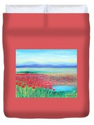 Peaceful Poppies Duvet Cover
