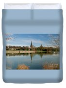 Peaceful Reflection Duvet Cover
