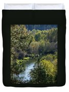 Peaceful River Duvet Cover