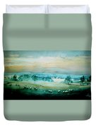 Peaceful Valley Duvet Cover