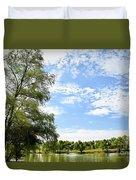Peaceful View - Bradfield Park 18-37 Duvet Cover