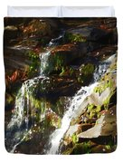 Peaceful Waterfall Duvet Cover