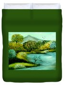 Peaceful  Waters 2 Duvet Cover