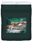 Peaceful Waters Flow Duvet Cover