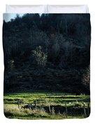Peaceful West Virginia Valley Duvet Cover
