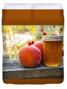Peach Jelly Duvet Cover
