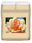 Peach Rose Art Prints Roses Flowers Giclee Prints Baslee Troutman Duvet Cover
