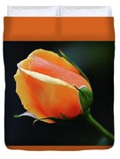 Peach Splendour Duvet Cover