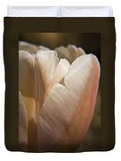 Peach Tulip Duvet Cover