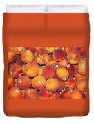 Peaches Duvet Cover