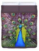 Peacock Art Duvet Cover