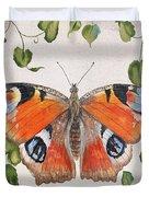 Peacock Butterfly-jp3878 Duvet Cover