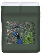 Peacock Enhanced Duvet Cover