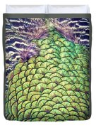 Peacock Feathers Duvet Cover