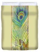 Peacock Feathers-jp3610 Duvet Cover