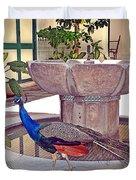 Peacock - Havana Cuba Duvet Cover