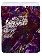 Peacock Lisbon Castle Animal Life  Duvet Cover
