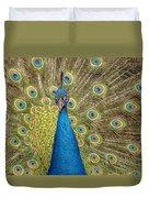 Peacock Splendor Duvet Cover